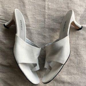 VanEli Shoes Heels Slide Off white Size 9
